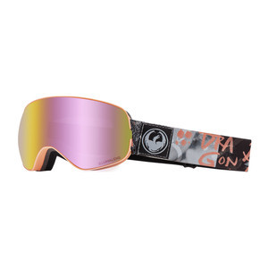Dragon X2s Snowboard Goggle 2019 - Flaunt / Pink Ion + Dark Smoke