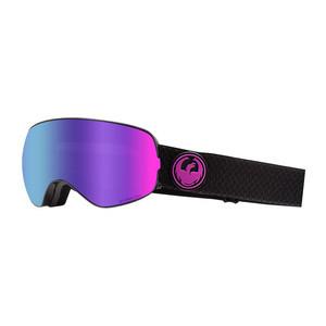 Dragon X2s Snowboard Goggle 2019 - Split / LL Purple Ion + LL Amber