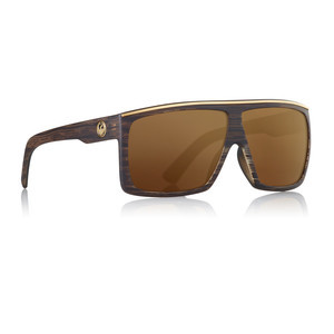 Dragon Fame Sunglasses - Matte Woodgrain / Copper Ion