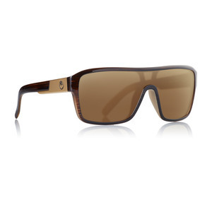 Dragon Remix Sunglasses - Matte Woodgrain / Bronze Ion