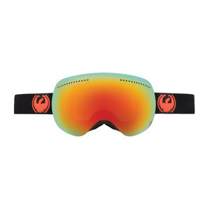 Dragon APX Snowboard Goggles — Jet / Red Ionised + Bonus Yellow Blue Ionised Lens