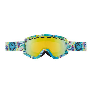 Dragon D2 Snowboard Goggles — Scope / Gold Ionised + Bonus Yellow Blue Ionised Lens