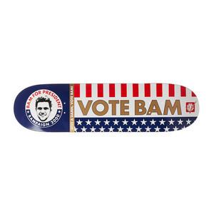 """Element Bam for President 8.25"""" Skateboard Deck"""