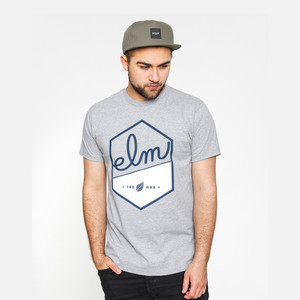 Elm Sly T-Shirt - Heather Grey
