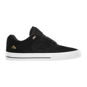 Emerica Reynolds 3 G6 Vulc Skate Shoe - Black / White / Gold