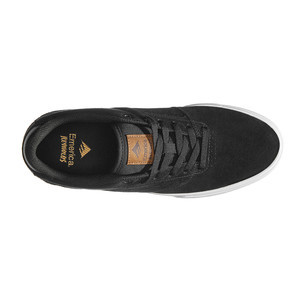 Emerica Reynolds Low Vulc Skate Shoe - Black/Brown