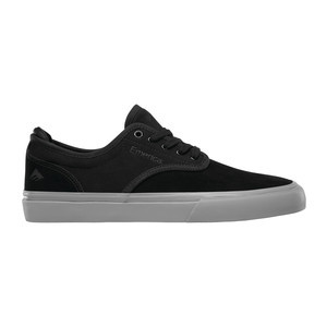Emerica Wino G6 Skate Shoe - Black/Grey