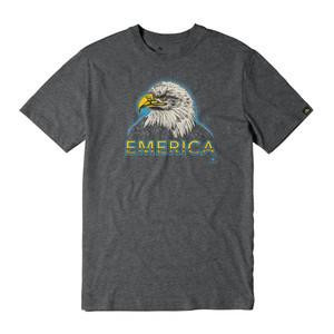 Emerica Eagle T-Shirt - Charcoal/Heather