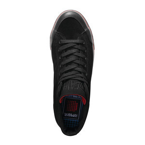 Emerica x Deathwish Indicator High Skate Shoe - Black