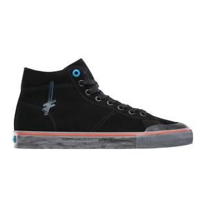 Emerica x Deathwish Indicator High Skate Shoe - Black