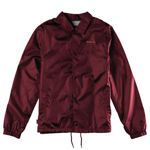 Emerica Dawbber Coaches Jacket — Maroon