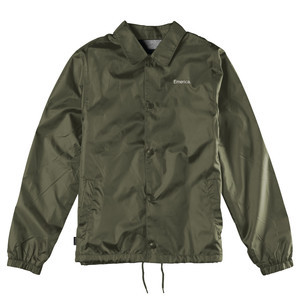 Emerica Dawbber Coaches Jacket — Olive
