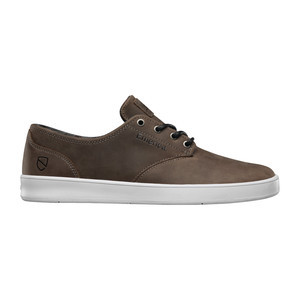 Emerica x Eswic Romero Laced Skate Shoe — Brown/White
