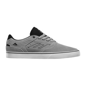 Emerica Reynolds Low Vulc Skate Shoe — Grey/Black