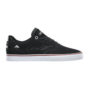 Emerica Reynolds Low Vulc x Indy Skate Shoe - Dark Grey