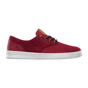 Emerica Romero Laced Skate Shoe — Burgundy
