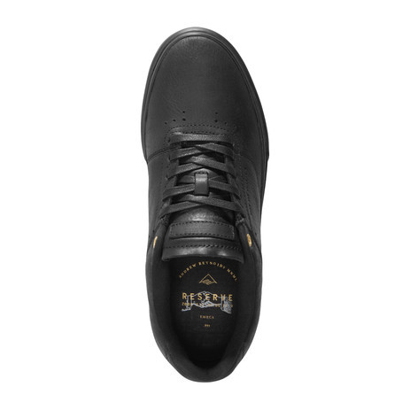 Emerica Reynolds LV Reserve Skateboard Shoe - Black/Black