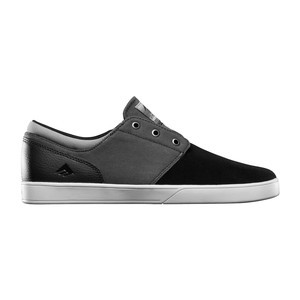 Emerica Figueroa Skate Shoe — Black/Grey/White