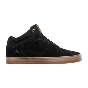 Emerica Hsu G6 Skate Shoe - Black/Gum