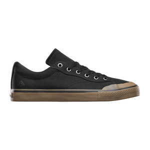 Emerica Indicator Low Skate Shoe - Black/Gum