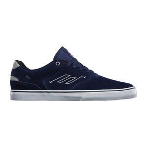 Emerica Reynolds Low Vulc Skate Shoe - Navy/Grey/White