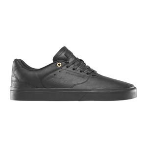Emerica Reynolds LV Reserve Skateboard Shoe - Black/Black