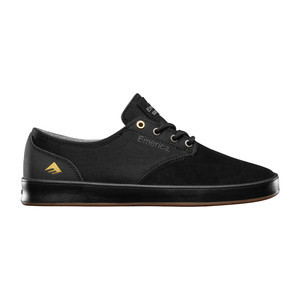 Emerica Romero Laced Skate Shoe - Black/Gum/Grey