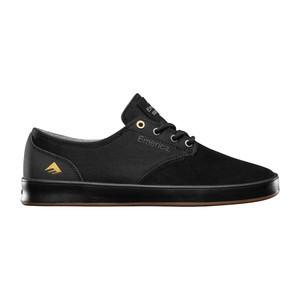 Emerica Romero Laced Skate Shoe - Black/Gum/Grey