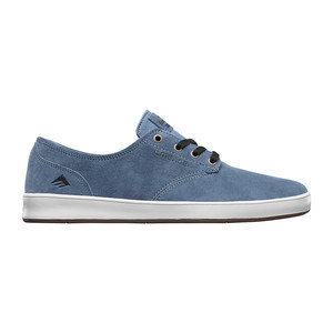 Emerica Romero Laced Skate Shoe - Blue/White/Gum