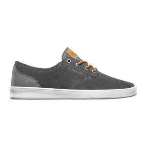 Emerica Romero Laced Skate Shoe — Grey/Brown