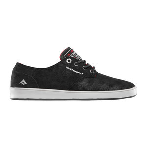 Emerica x Indy Romero Laced Skate Shoe - Black/Grey/Black