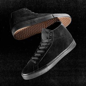 Emerica Omen Hi Skate Shoe - Black / Gum