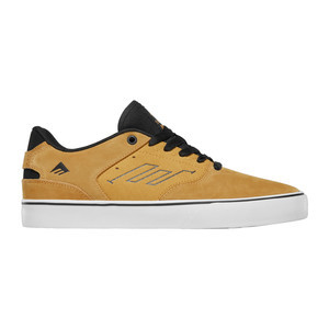 Emerica Reynolds Low Vulc Skate Shoe - Yellow
