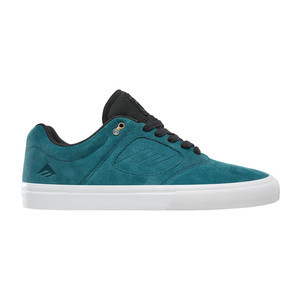 Emerica Reynolds 3 G6 Vulc Skate Shoe - Teal / Black