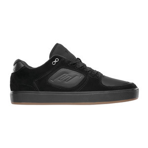 Emerica Reynolds G6 Skate Shoe - Black / Black / Gum