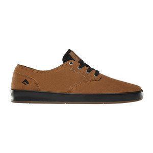 Emerica Romero Laced Skate Shoe - Tan/Black
