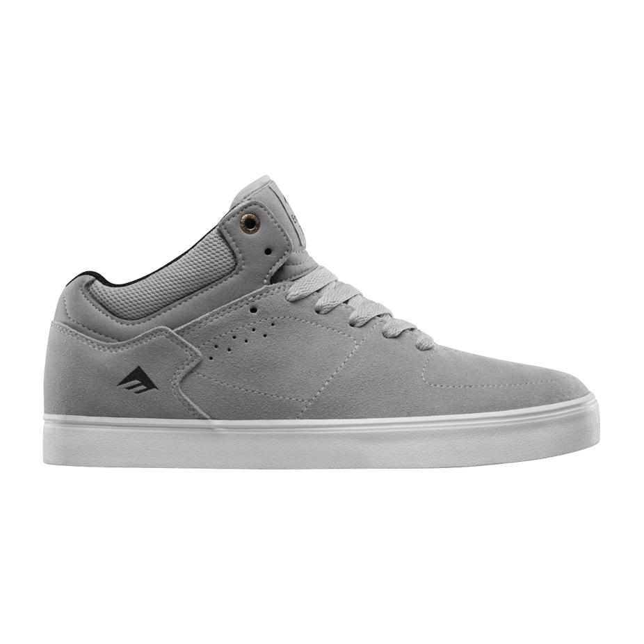 Emerica Hsu G6 Skate Shoe - Grey/White