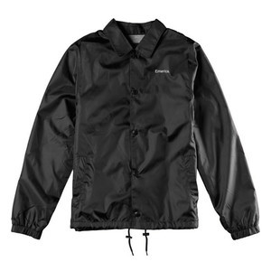 Emerica Dawbber Coaches Jacket - Black