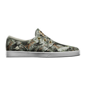 Emerica Figueroa Skate Shoe — Green