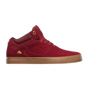 Emerica Hsu G6 Skate Shoe — Burgundy/Gum