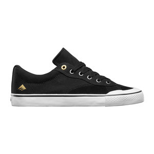 Emerica Indicator Low Skate Shoe - Black/White
