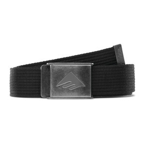Emerica Kemper Belt - Black/Silver