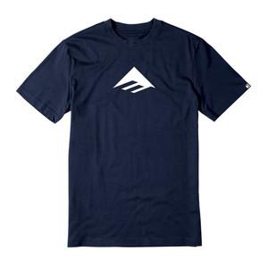 Emerica Triangle 7.1 T-Shirt - Navy/White