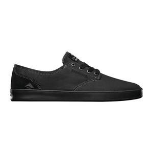 Emerica Romero Laced Skate Shoe — Black/Black/Gum