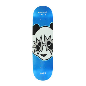 "Enjoi KISS Berry 8.125"" Skateboard Deck - Metallic Blue"