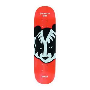 "Enjoi KISS Pilz 8.25"" Skateboard Deck - Metallic Red"
