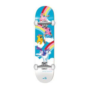 """Enjoi My Little Pony Dreams 7.25"""" Complete Skateboard - Multi"""