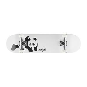 "Enjoi Panda 7.6"" Complete Skateboard - White"