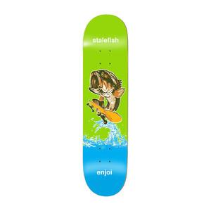 "Enjoi Stalefish 8.0"" Skateboard Deck - Green"