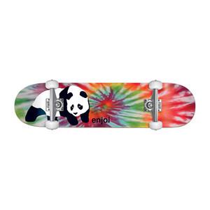 """Enjoi Tie-Dye Panda 7.75"""" Complete Skateboard"""